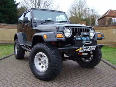 Jeep Wrangler 4.0 Jamboree 2dr Convertible Petrol BlackJeep Wrangler 4.0 Jamboree 2dr Convertible Petrol Black at Claridges Cars Leighton Buzzard