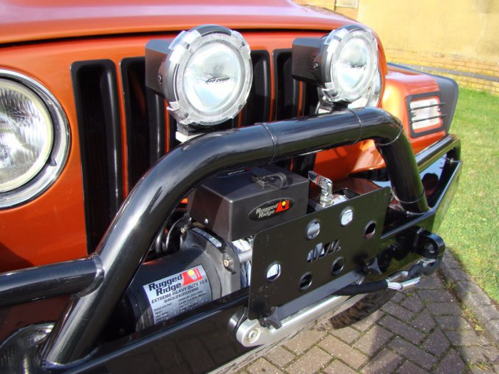Jeep Wrangler 4.0 Grizzly 2dr Soft Top Convertible Petrol Orange