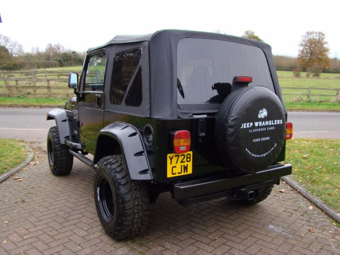 Jeep Wrangler 4.0 Sport 2dr Four Wheel Drive Petrol Black