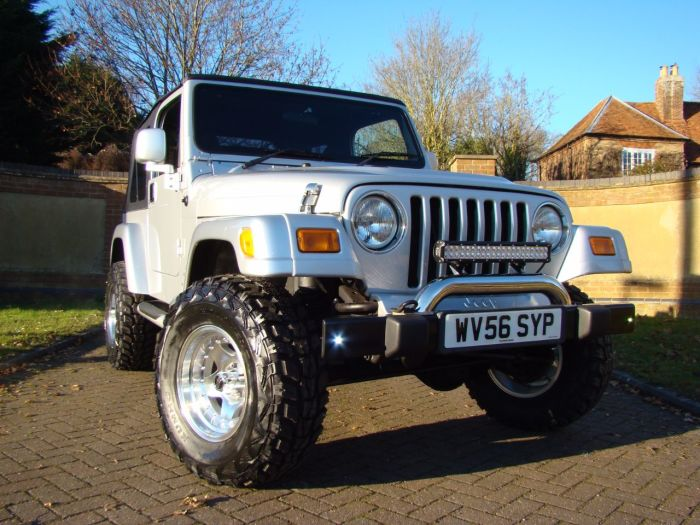 Jeep Wrangler 4.0 Jamboree 2dr Four Wheel Drive Petrol Silver