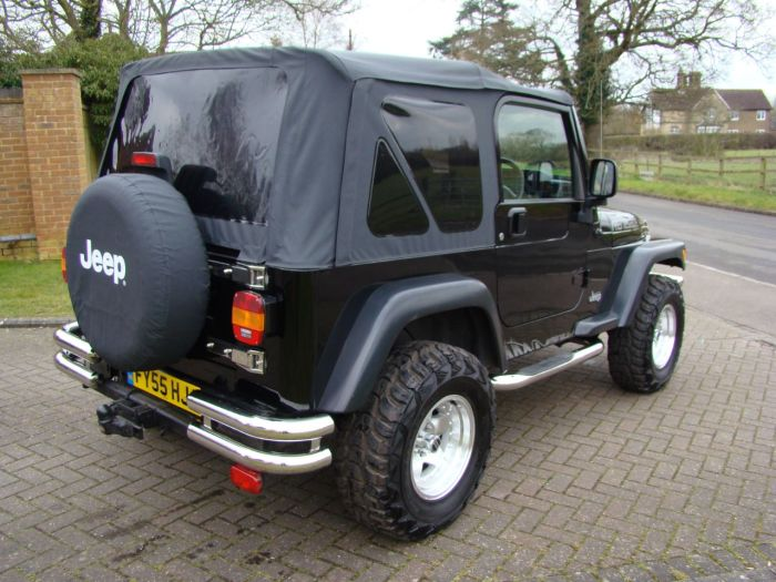 Jeep Wrangler 4.0 Renegade 2dr Convertible Petrol Black