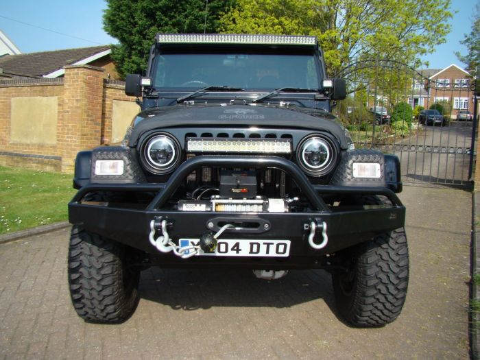 Jeep Wrangler 4.0 Sport 2dr Estate Petrol Black