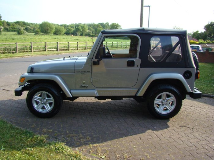 Jeep Wrangler 4.0 60th Anniversary 2dr Estate Petrol Silver
