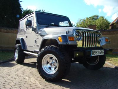 Jeep Wrangler 4.0 Sport Automatic Four Wheel Drive Petrol GreyJeep Wrangler 4.0 Sport Automatic Four Wheel Drive Petrol Grey at Claridges Cars Leighton Buzzard