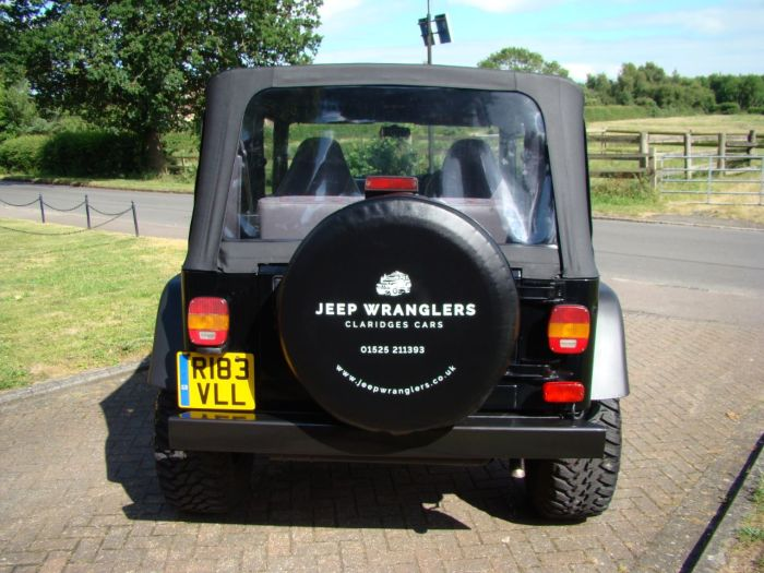 Jeep Wrangler 4.0 Sport Soft Top Manual Four Wheel Drive Petrol Black