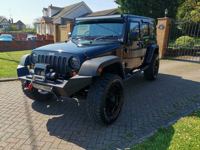 Jeep Wrangler 2.8 CRD Sport Unlimited 4dr Convertible Diesel Black