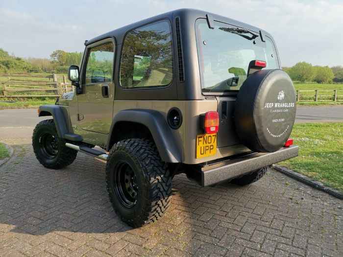 Jeep Wrangler 4.0 Renegade 2dr Convertible Petrol Beige